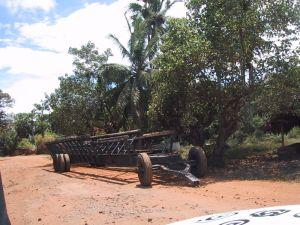 LTTE boat trailer