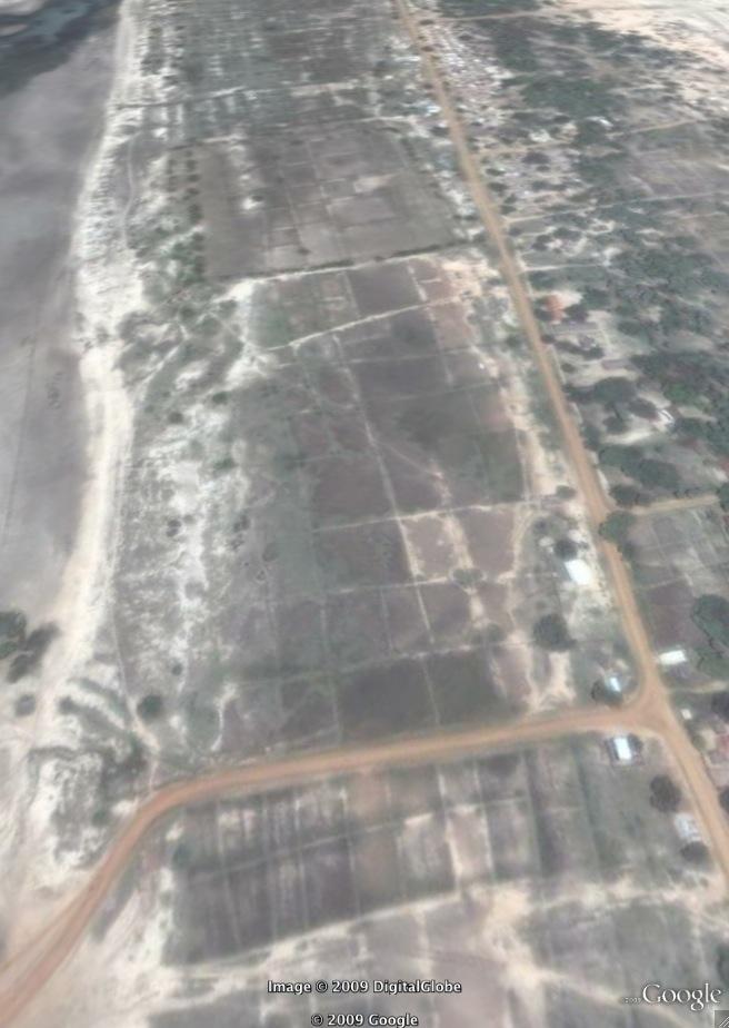 Puthumathalan Google Earth Image