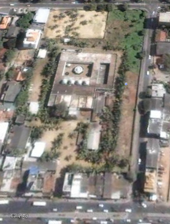 Palaya Kadiresan Kovil, Colombo Sri Lanka -  Google Earth screen shot