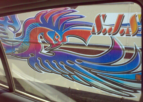 Abstract motif  motif vehicle graphic Sri Lanka