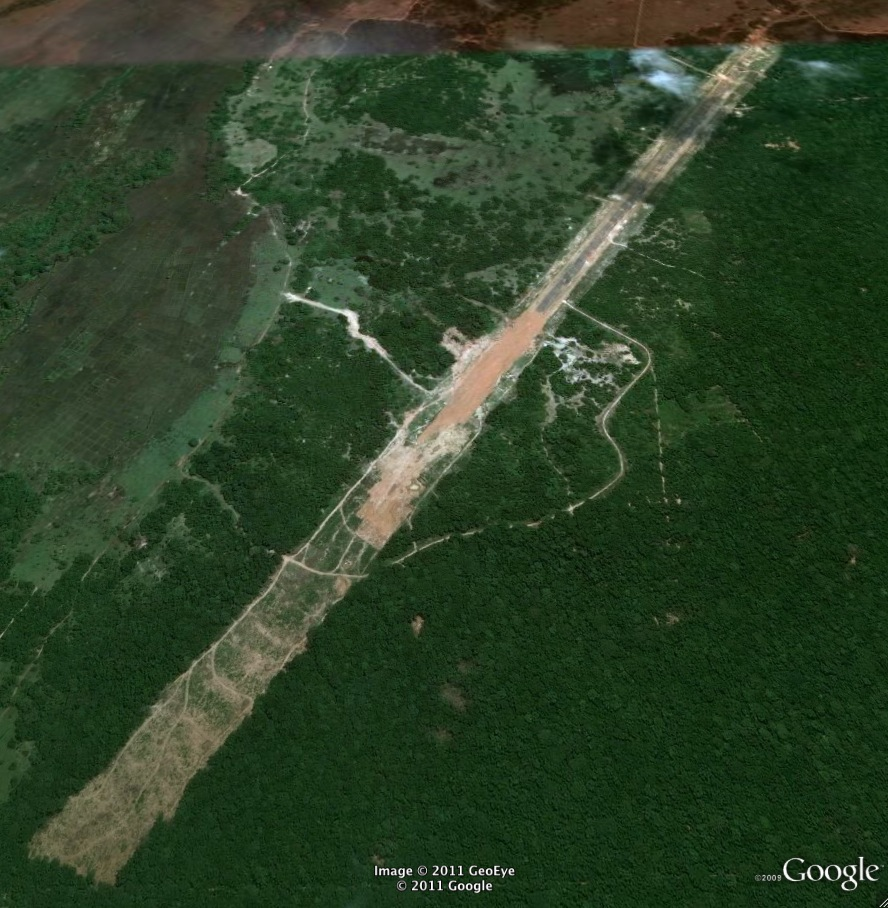 Former LTTE Airfield Mullativu Sri Lanka