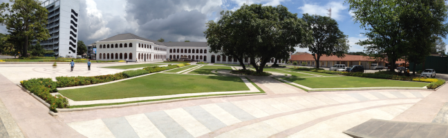 Panorama shot, Arcade Independence Square