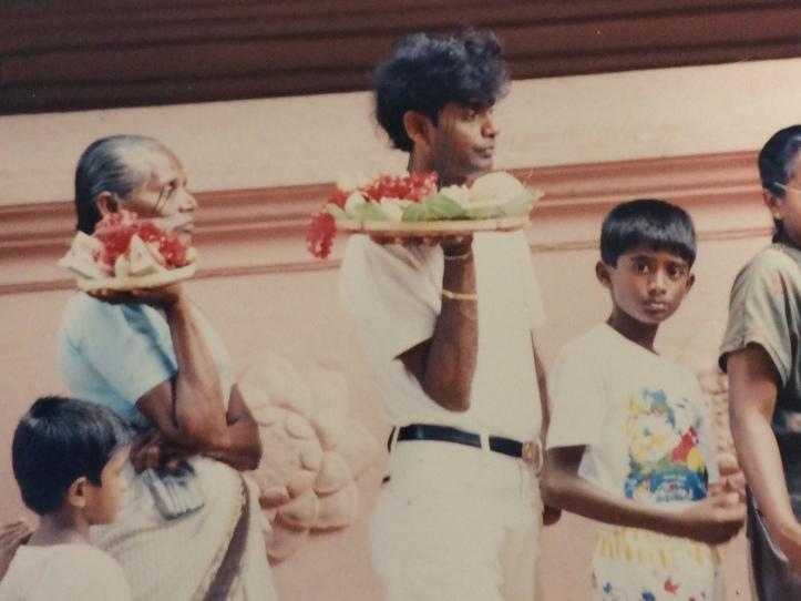 Katharagama pilgrims late 20th century
