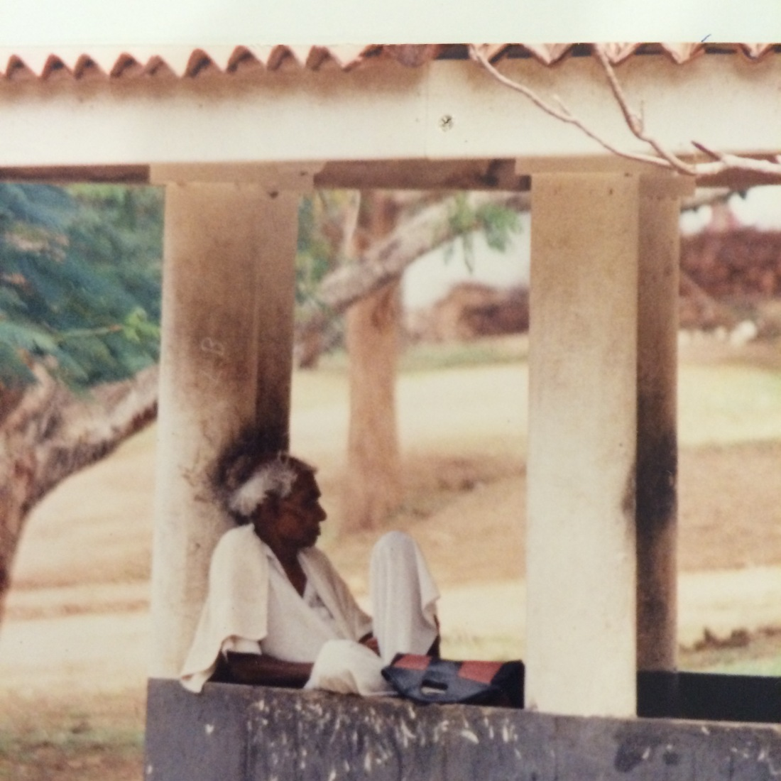 Katharagama pilgrim late 20th century