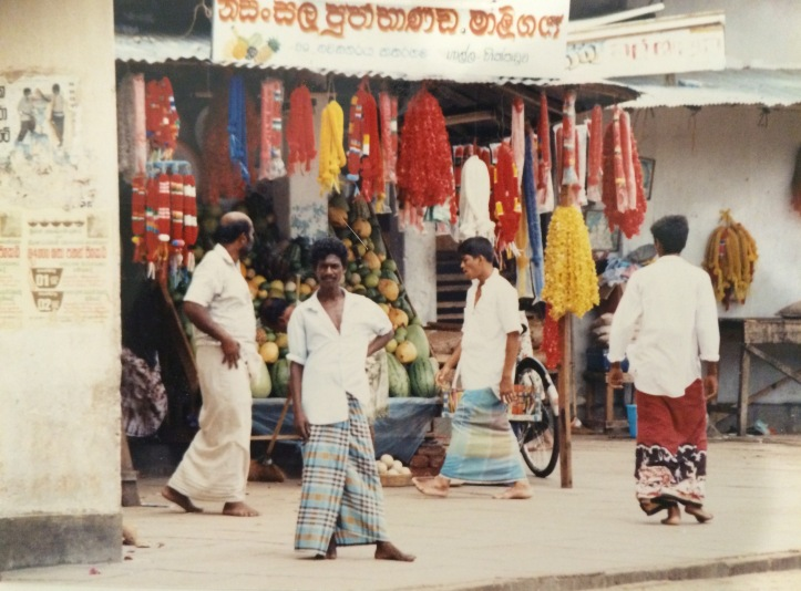 Katharagama shop front late 20th century